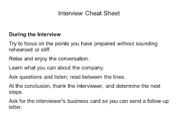 Mock Interviews Workshop Ppt Video Online Download