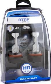 Светодиодные <b>лампы MTF light</b> DYNAMIC BLUE H11 (<b>H8</b>/H16 ...