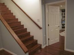 Painted Wood Stairs Wood Paint For Basement Stairs Paint For Basement Stairs Design