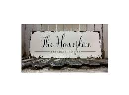 business sign shabby chic hand painted wooden