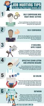 Tips To Find A Job Job Hunting Tips To Help You Find Your Dream Job Visual Ly