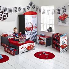 Lightning Mcqueen Bedroom Furniture Cars Toddler Bed Disney Cars Toddler Bed With Underbed Storage