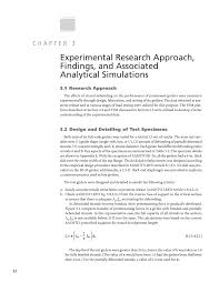 Discuss Experimental Research Design Chapter 3 Experimental Research Approach Findings And