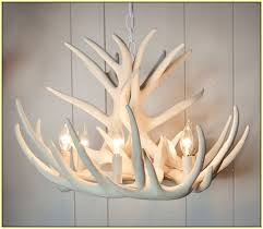 faux antler chandelier white home design ideas chandeliers deer uk intended for awesome property faux antler chandelier decor