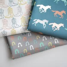 16 best baby quilt images on Pinterest | Horses, Baby quilts and Cards & lucky - horse shoe fabric - original fabric - fat quarter. $9.00, via Etsy Adamdwight.com