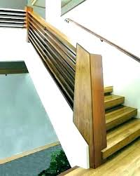 exterior wood railing modern rustic handrail exterior wood railing cantilevering home interior decorations for wooden