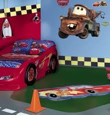 lightning mcqueen dresser and nightstand cars bedroom set accessories disney racetrack rug sofa pixar curtains