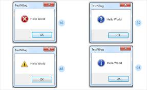 Vbscript Msgbox Chart Numbers Message Box In Uft Qtp Msgbox Testnbug