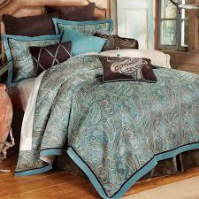 cypress falls southwestern bed set king western bedding linens com