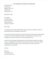 Sample Of Resignation Letter From Jobs Example Of Resignation Notice Bitacorita