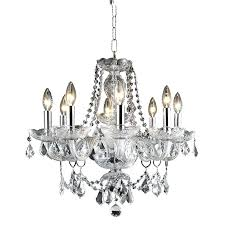 chandeliers elegant lighting chandelier 8 light royal crystal in chrome halo