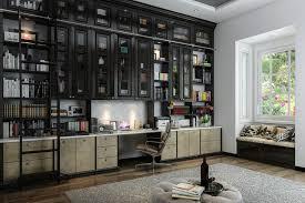 Classy Custom Home Office Designs On Decor Ideas With
