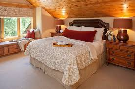 slanted ceiling bedroom makeover ideas