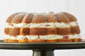 Strawberry Cream Filled Cake Recipe Kraft Canada
