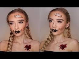 voodoo doll makeup easy saubhaya makeup