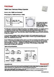 honeywell tb room thermostat wiring diagram wiring diagram danfoss room thermostat wiring diagram digital