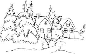 Small Picture Winter Wonderland Coloring Pages Coloring Pages For Winter