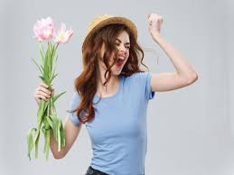 <b>Весна</b> молодая красивая девушка с <b>цветами женщина</b> позирует ...
