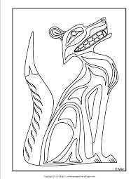 Small Picture Pacific Northwest Native American Art Coloring Pages SMacs