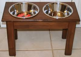 magnificent dog food bowl stand watch more like dog food stand in dog bowl stand