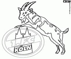 Kleurplaat Fc Köln Badge Kleurplaten