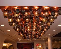 Blown glass light fixtures Single Ikram Blown Glass Light Installation Talisman Glass Lighting Talisman Glass