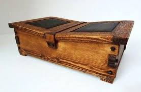 rustic wood boxes and leather box wooden australia