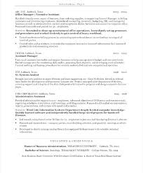 Examples Of Administrative Resumes Simple Example Of Administrative Resume Stanmartin