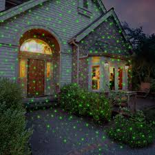 outdoor christmas lighting. Virtual Outdoor Christmas Projection Lights Lighting