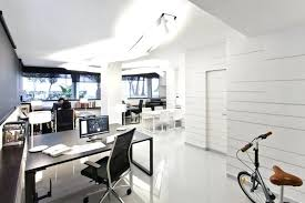 modern office design layout. Minimalist Office Design Modern Layout Ideas Showing Black Wooden Table Also White