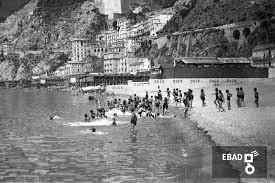 Archivio Fotograficoscheda N36901 Bambini Della Colonia Al Mare