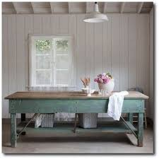 shabby chic couture furniture. Rachel Ashwell Shabby Chic Couture - Green Work Table For Studio Or Office. Furniture C