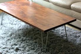 hairpin coffee table legs designs pin iron world market t