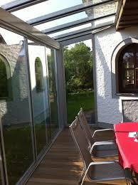 Schiebetüren Für Einen Alu Wintergarten Fenster Schmidinger Konzept