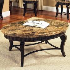 round granite top coffee table granite top coffee table n78