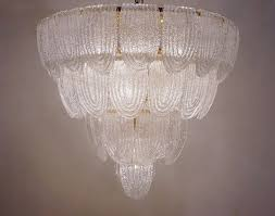 barovier toso style chandelier murano glass gilt frame italian in contemporary collection from roomscape