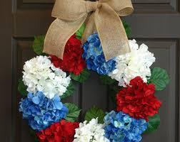 patriotic wreaths for front doorXl patriotic wreath  Etsy