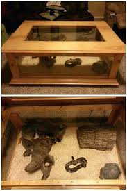 reptile terrarium table reptile cage diy reptile enclosure coffee table