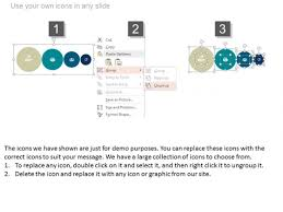 Circle Chart For Financial Planning Process Powerpoint
