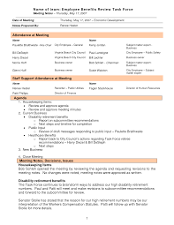 Sample Meeting Minutes Meeting Minutes Format Template Complete Guide Example 19
