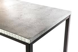 zinc top dining table the dining tables top zinc top dining table for zinc sheets zinc top dining table
