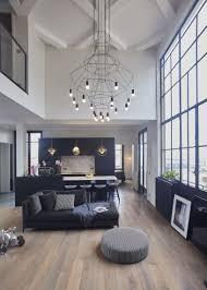 Cuisine Ouverte Sur Le Salon   Grande Hauteur Sous Plafond   Volume  Lumineux Au Plein Coeur De Paris   Appartement Parisien De 193 M2   GCG  Architectes
