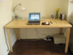picture of how to mount a power strip and power bricks under your desk