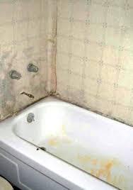 mold on bathroom ceiling. orange mold in bathroom ceiling on