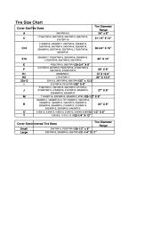 tire size chart printable pdf