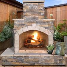 found it at natural stone propane gas outdoor fireplace fire pit kit