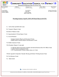 Cec13 Working Session Tues, Sept 1St: School Re-Zoning On The Agenda ...