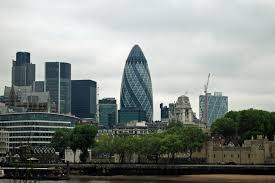 The Gherkin, The Egg Shaped Building in London