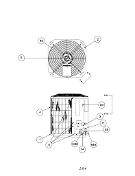 carrier model 38ycc036 series340 air conditioner heat pump(outside Air Conditioner Compressor Wiring Diagram at 38ycc036340 Compressor Wiring Diagram