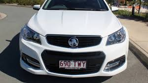 2014 Holden Commodore VF MY14 SV6 Sportwagon Storm Heron White 6 ...